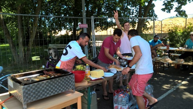 Grillfest Schmollerstr. Juli 2016