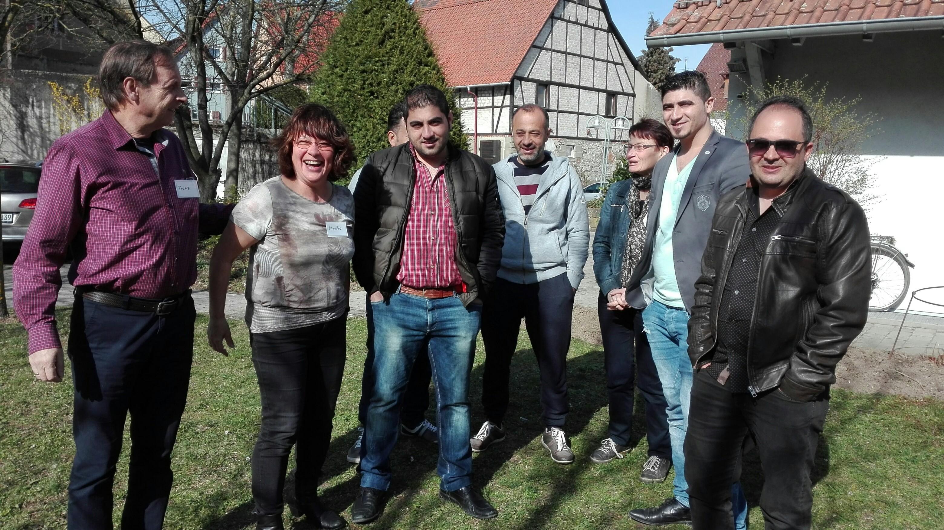 Intern.Café 25.3.17 - Monika und Gäste