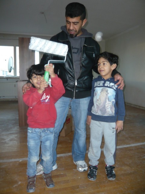 Rawad, Khaled und Mourad - Dez.16