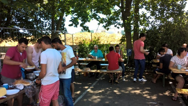 Sommerfest Schmollerstr. 10.7.16